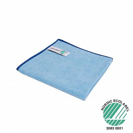 Wecoline microvezeldoek Blauw ECOLABEL 40X40cm (10st.)