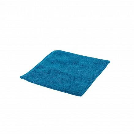 Microvezeldoek gebreid blauw