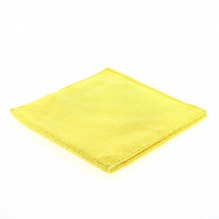 Microvezeldoek gebreid geel