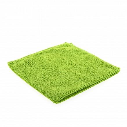 Microvezeldoek gebreid groen