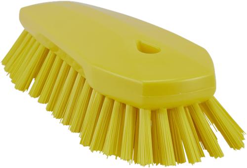Vikan Hygiene ergo werkborstel geel hard 70x200mm