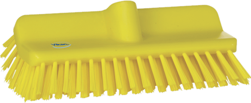 Vikan Hygiene hoekschrobber hard 245x110x145mm geel