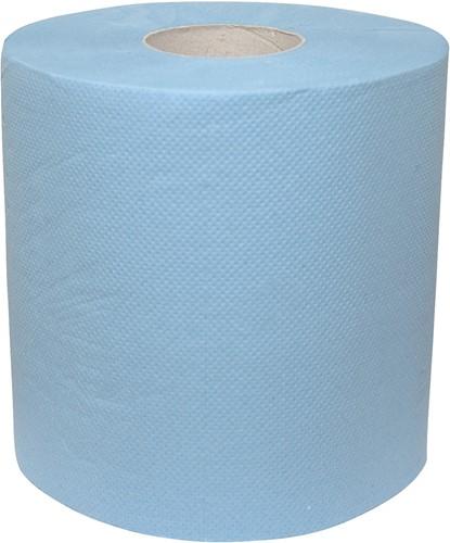 Euro Poetsrol midi blauw 2-lgs blauw 6x150m.