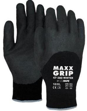 M-Safe Maxx-Grip Winter 47-280 handschoen zwart, maat XL (10)