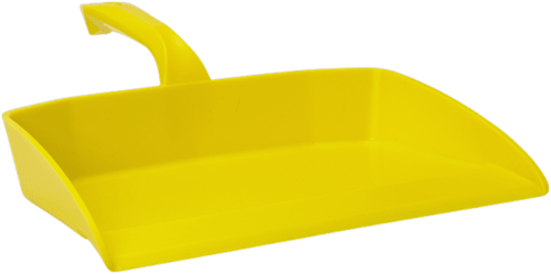 Vikan ergonomisch stofblik geel 330x295 mm