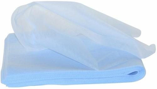 Stofwisdoeken wit oliegeimpregneerd 100x30 500st. (5 pak)