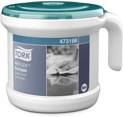 Tork Reflex Draagbare Vel-Voor-Vel Centerfeed Dispenser (M4)