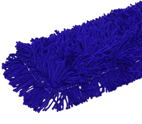 Zwabberhoes Acryl blauw 100cm