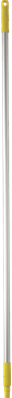 Vikan Aluminium steel 150 cm Geel