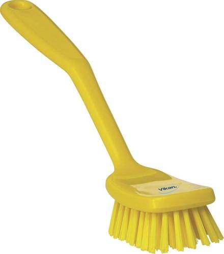 Vikan afwasborstel geel