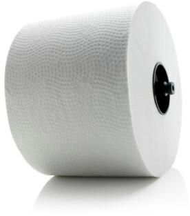 BlackSatino toiletpapier Systeemrol met dop 24x100m.