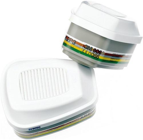 3M filter 6059 ABEK1 Volgelaatsmasker 6800 (set)