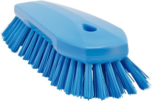 Vikan Hygiene ergo werkborstel blauw hard 70x200mm