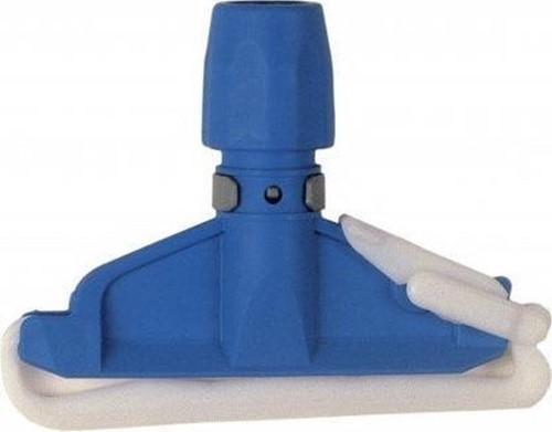 Mopklem kunststof zware uitvoering blauw