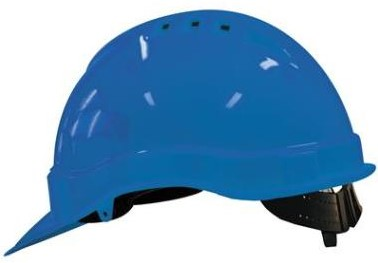 M-Safe veiligheidshelm blauw