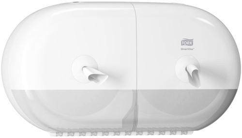 Tork SmartOne Twin Mini Toiletrol Dispenser Wit (T9)