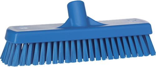 Vikan vloerschrobber 30cm blauw