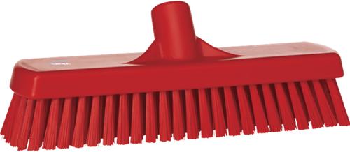 Vikan vloerschrobber 30cm rood