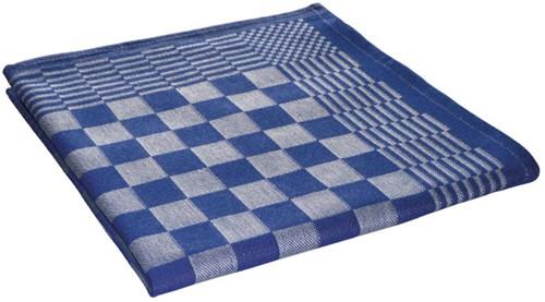 Theedoeken blok marineblauw 65x65cm (10st.)