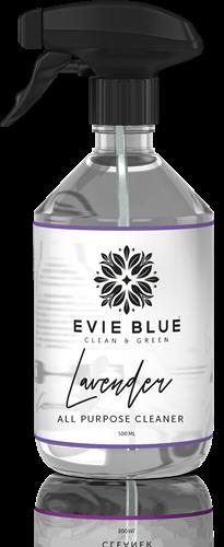 Evie Blue Sprayfles 500 ml Allesreiniger Lavendel (leeg)