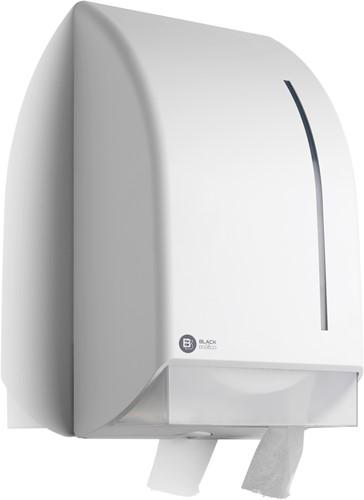 BlackSatino Jumbo toiletroldispenser wit