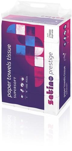 Satino Prestige Cellulose wit 2 lgs 20.6x32 cm