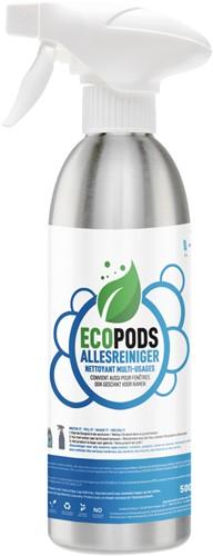 Ecopods aluminium sprayflacon keukenontvetter 500ml