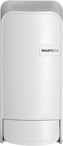 Euro White Quartz zeepdispenser t.b.v. lotion 900ml