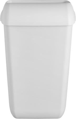 Euro Quartz White Afvalbak kunststof select 43L
