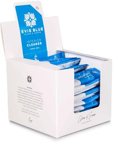 Evie Blue dagelijkse interieurreinger 48st. t.b.v. sprayfles 500ml