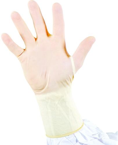 Cleanroom Natuurlijke Latex handschoenen ongepoederd S, 100 st