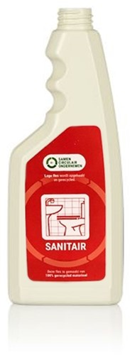 Sprayflacon 500 ml SANITAIR 100% gerecycled HDPE