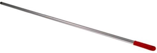 Steel aluminium rood met schroefdraad 140cm