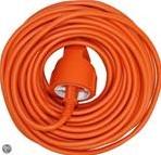 Verlengsnoer oranje 20m