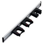 Toolflex wandstrip 50cm met klemmen wit (3x 20/30mm)