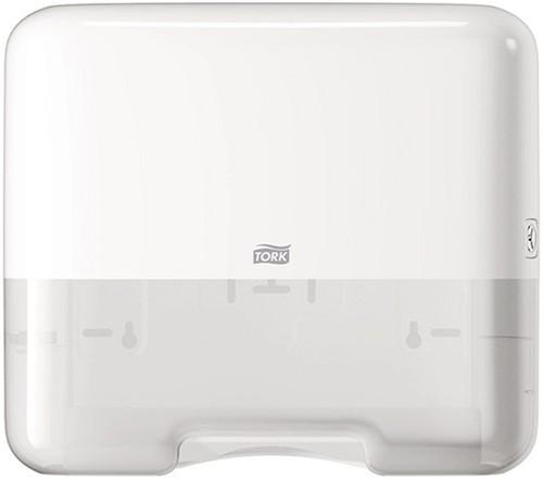 Tork Mini Singlefold/C-fold handdoekdispenser wit (H3)