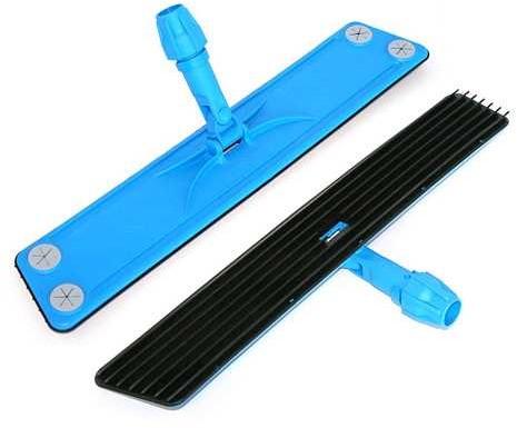 Stofwisframe rubber met lamellen flexibel 60cm