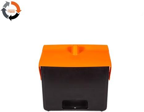 Orange Brush Hotelstofblik polypropyleen 7L zonder steel 98% gerecycled