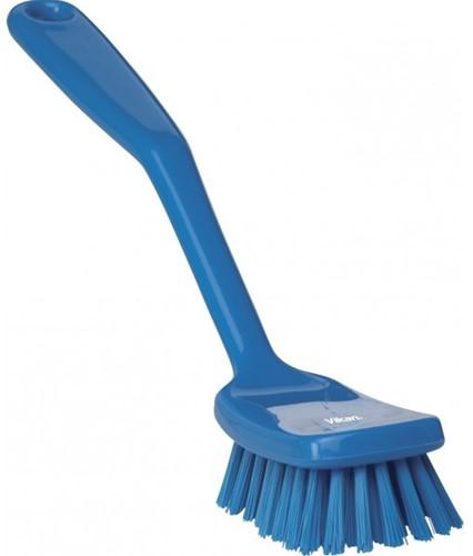 Vikan afwasborstel blauw