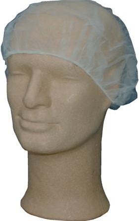 Haarnetjes wit (1000st.)