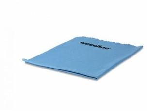 Wecoline microvezel glasdoek soepel blauw